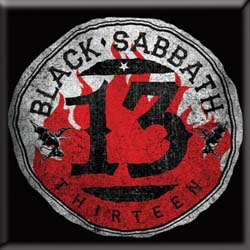Black Sabbath Fridge Magnet: 13