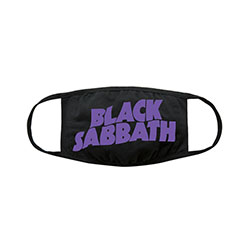 Black Sabbath Face Mask: Wavy Logo
