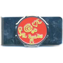 The Beatles Money Clip: Love Drum