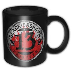 Black Sabbath Boxed Standard Mug: 13 Flame Circle