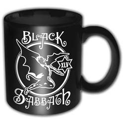 Black Sabbath Boxed Standard Mug: 45th Anniversary