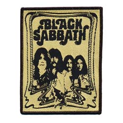Black Sabbath Standard Patch: The End