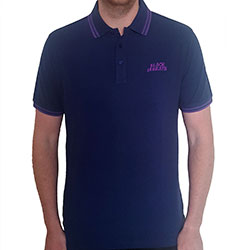 Black Sabbath Unisex Polo Shirt: Wavy Logo