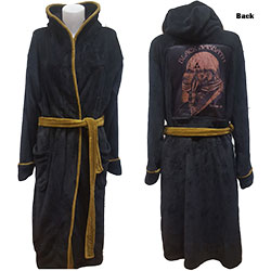 Black Sabbath Unisex Bathrobe: Us Tour 78 Avengers