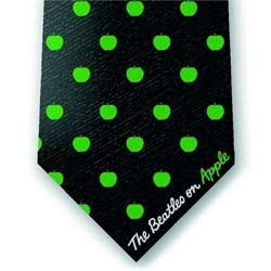 The Beatles Unisex Silk Neck Tie: On Apple