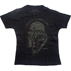 Black Sabbath Ladies Fashion Tee: US Tour 1978 with Skinny Fitting