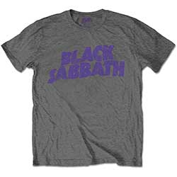 Black Sabbath Kids Tee: Wavy Logo