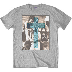 Black Sabbath Men's Tee: Blue Cross