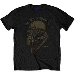 Black Sabbath Kid's Tee: US Tour 1978 Avengers (Retail Pack)