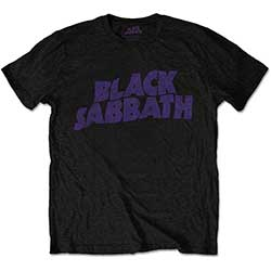 Black Sabbath Kid's Tee: Wavy Logo (Retail Pack)