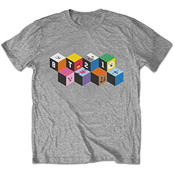 BT21 Unisex Tee: Blocks