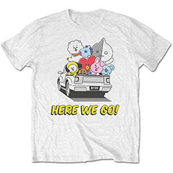 BT21 Unisex Tee: Here We Go