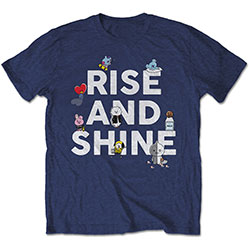 BT21 Unisex Tee: Rise And Shine