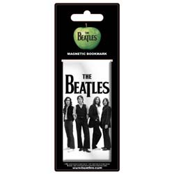 The Beatles Magnetic Bookmark: White Iconic Image