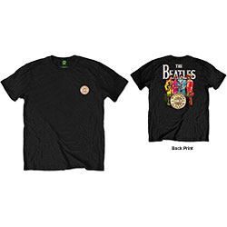 The Beatles Unisex Tee: Sgt Pepper (Back Print/Retail Pack)