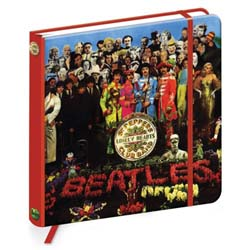 The Beatles Notebook: Sgt Pepper (Hard Back)