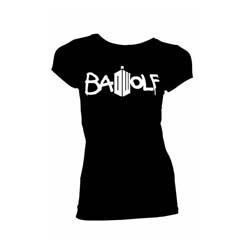 Doctor Who Ladies Tee: Bad Wolf