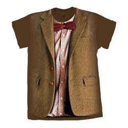 Doctor Who Unisex Tee: 11th Doctor Costume (XX-Large Only)