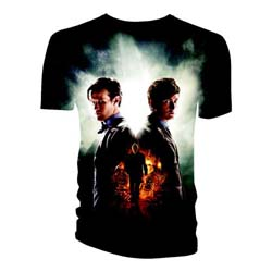 Doctor Who Unisex Tee: Day of the Doctor Full Print (Small Only)