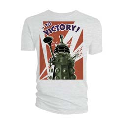Doctor Who Unisex Tee: Dalek to Victory