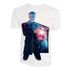 Doctor Who Men's Tee: 12th Doctor Galaxy Coat Lining