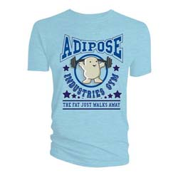 Doctor Who Men's Tee: Adipose Gym