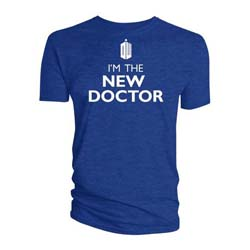 Doctor Who Unisex Tee: I'm the New Doctor
