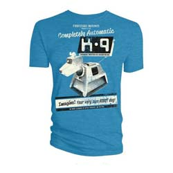 Doctor Who Unisex Tee: K-9 your very own robot dog