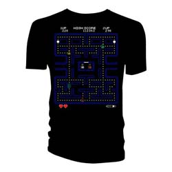 Doctor Who Ladies Tee: Retro Video Game Maze
