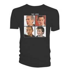 Doctor Who Ladies Tee: Quartet Time Lords