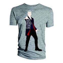 Doctor Who Men's Tee: 100% Rebel Time Lord