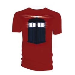 Doctor Who Men's Tee: Shadowfields Tardis