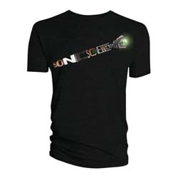 Doctor Who Men's Tee: Sonic Screwdriver Words