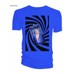 Doctor Who Men's Tee: Tardis Blue Swirl