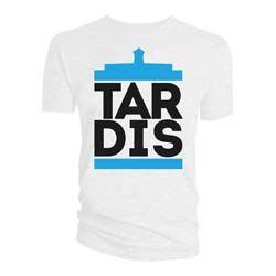 Doctor Who Men's Tee: Tardis Tour Dates