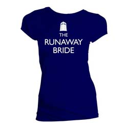 Doctor Who Ladies Tee: The Runaway Bride