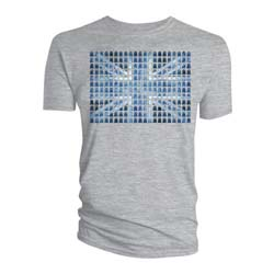 Doctor Who Men's Tee: Union Jack Tardis  (Small Only)