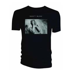 Doctor Who Ladies Tee: Weeping Angel Album Don't Blink