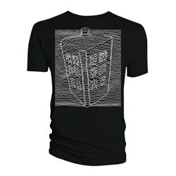 Doctor Who Men's Tee: Big Tardis Radio Waves
