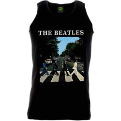 The Beatles Unisex Vest Tee: Abbey Road