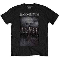 Black Veil Brides Men's Tee: Black Frog (Retail Pack)