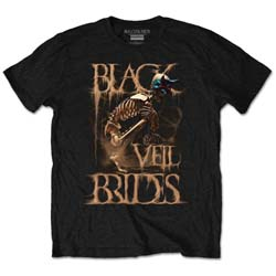 Black Veil Brides Unisex Tee: Dust Mask (Retail Pack)