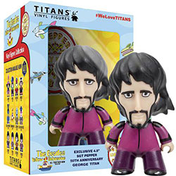"The Beatles TITANS: Sgt Pepper Disguise George (4.5"")"