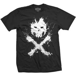Marvel Comics Unisex Tee: Captain America Civil War Crossbones Icon