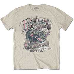 Creedence Clearwater Revival Unisex Tee: Born on the Bayou
