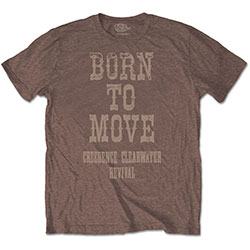 Creedence Clearwater Revival Unisex Tee: Born To Move