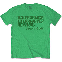 Creedence Clearwater Revival Unisex Tee: Green River
