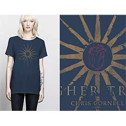 Chris Cornell Ladies Tee: Higher Truth