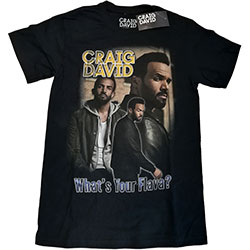 Craig David Unisex Tee: What's Your Flava Homage