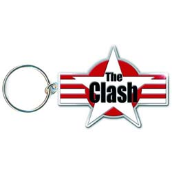 The Clash Standard Keychain: Stars & Stripes